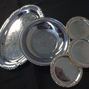 Other - I ironware silver tray's